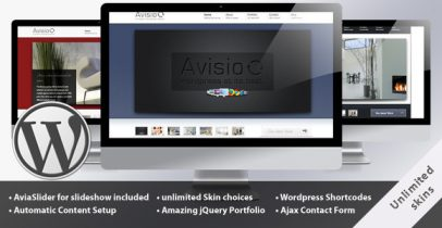 Themeforest wordpress企业主题-avisio