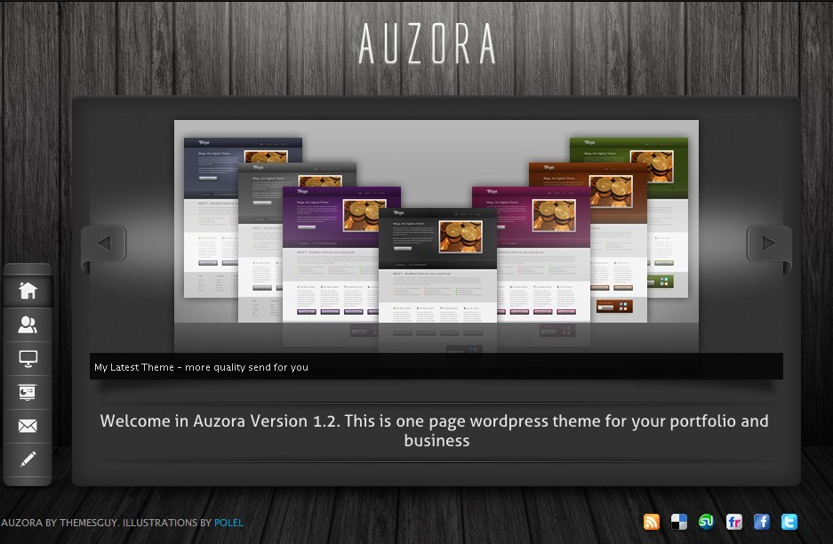 themeforest wordpress企业主题-Auzora