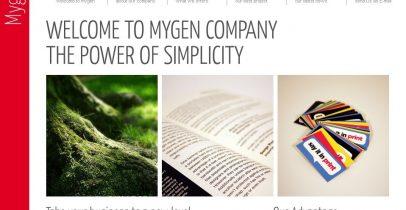 ThemeForest超酷红白wordpress企业主题:Mygen