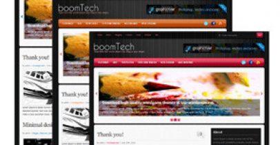 3色Wordpress 主题-Boom Tech