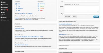 Wordpress后台主题 - Fluency Admin