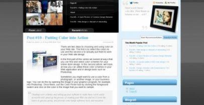 Wordpress 主题-Web 2.0