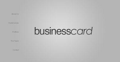[推荐]超级简洁商务主题-BusinessCard