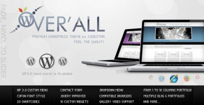 themeforest wordpress企业主题-OverALL