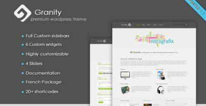 WordPress企业主题-Granity