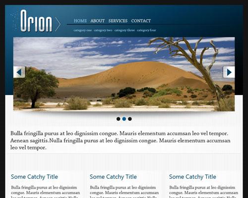免费wordpress企业主题-Orion