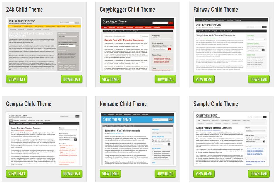 6款来自StudioPress的免费wordpress博客主题
