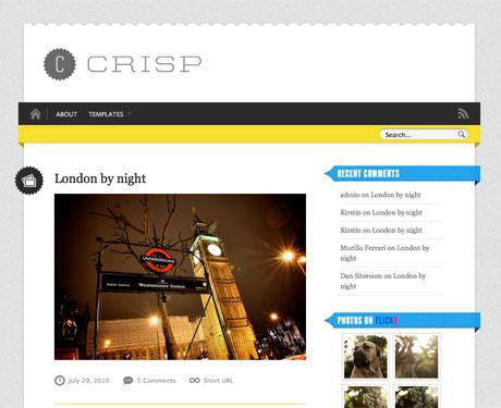 wordpress简洁博客主题-Crisp