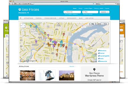 wordpress企业主题-Geo Places
