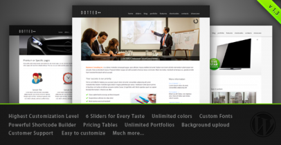 ThemeForest wordpress企业主题-Dotted
