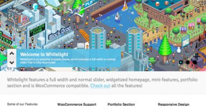WooThemes wordpress企业主题 - Whitelight