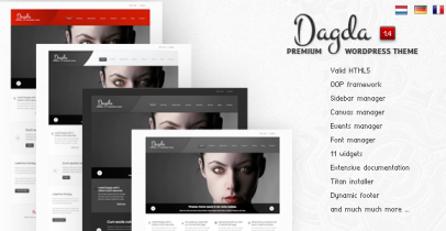 ThemeForest wordpress企业主题 – Dagda v1.4