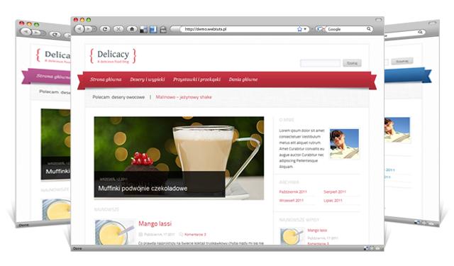 wordpress博客主题 - Delicacy