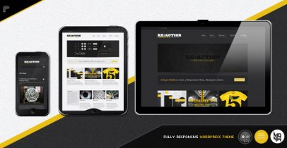 ThemeForest wordpress主题 - Reaction
