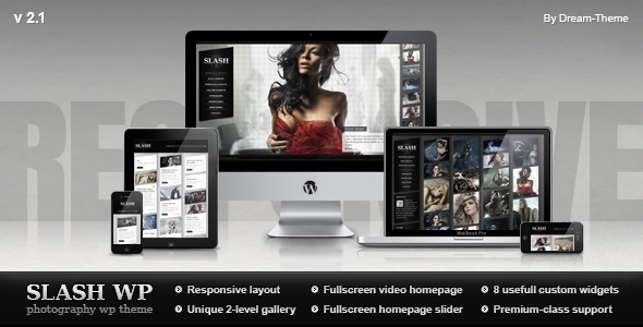 ThemeForest wordpress图片主题 - Slash v2.1