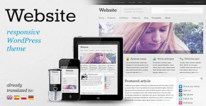 ThemeForest wordpress企业主题 – Website v2.1
