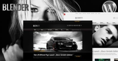 ThemeForest wordpress图片主题 - Blender
