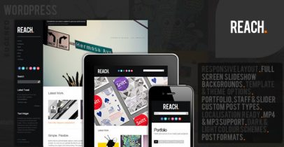 ThemeForest wordpress企业主题 - Reach