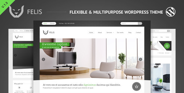 ThemeForest wordpress企业主题 - Felis
