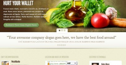 ElegantThemes wordpress企业主题 - MyCuisine