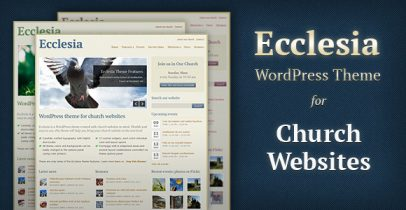 ThemeForest wordpress主题 - Ecclesia