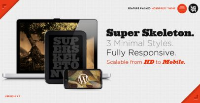 ThemeForest wordpress企业主题 – Super Skeleton V1.8