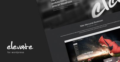 ThemeForest wordpress主题 - Elevate
