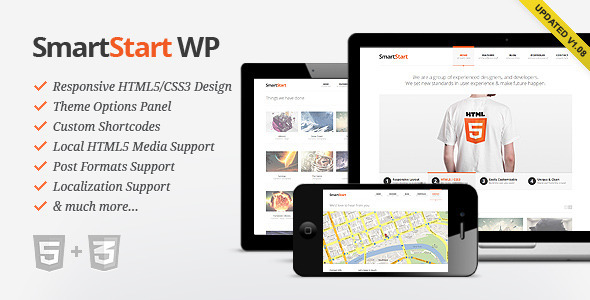 ThemeForest wordpress企业主题 - SmartStart