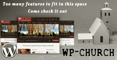ThemeForest wordpress主题 – WP-Church