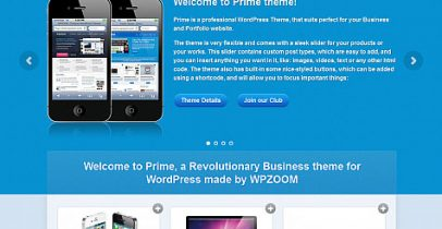 WPZOOM wordpress企业主题 - Prime