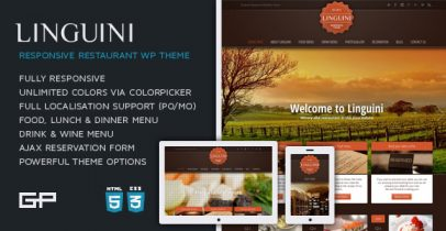 ThemeForest wordpress企业主题 – Linguini V1.6