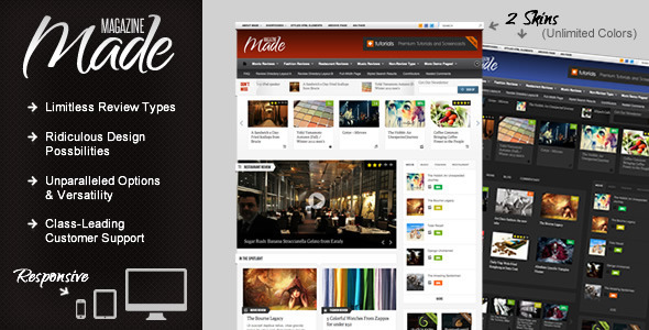 ThemeForest wordpress CMS主题 – Made