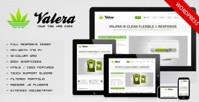 ThemeForest wordpress企业主题 - VALERA