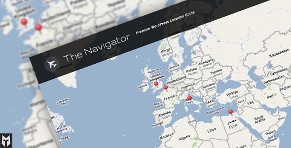 旅游博客类wordpress主题 - The Navigator