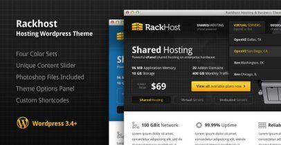 IDC服务商类WordPress主题 - Rackhost