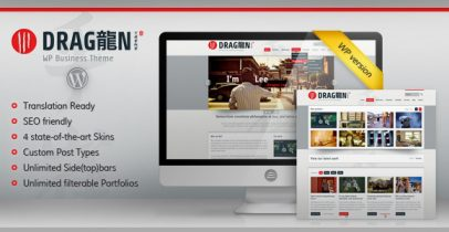 ThemeForest wordpress企业主题 - Dragon