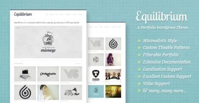 wordpress企业/工作室主题 - Equilibrium
