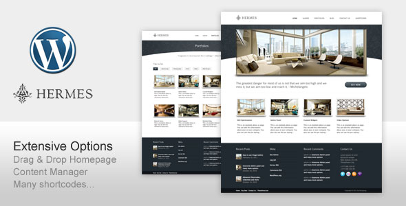 ThemeForest wordpress企业主题 – Hermes