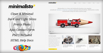 ThemeForest wordpress企业主题 - Minimalisto