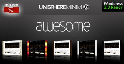 ThemeForest wordpress主题 - UniSphere Minim