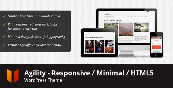 HTML5响应式WordPress主题 - Agility