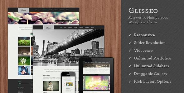 ThemeForest WordPress企业主题 - Glisseo