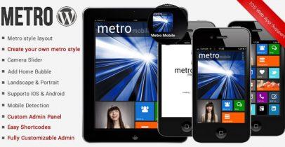 Metro风格WordPress手机主题 - Metro