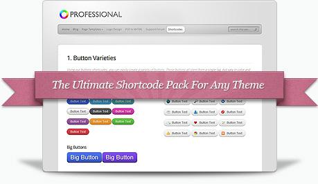 WordPress短代码插件 - Elegant Shortcodes