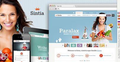 【推荐】WordPress企业主题 - Sintia