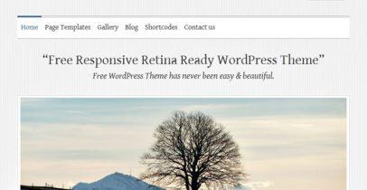 wordpress汉化主题 - Clean Retina