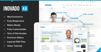 Inovado ThemeForest Wordpress企业主题