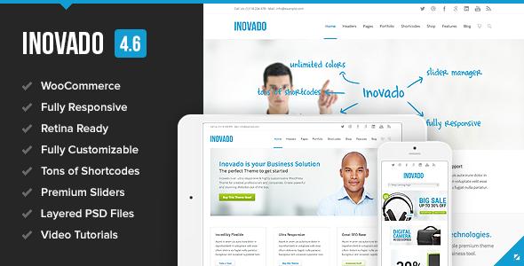 Inovado ThemeForest Wordpress企业主题