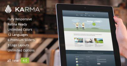 WordPress企业商务主题 - Karma