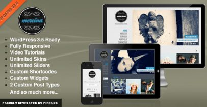 ThemeForest wordpress主题 - Mercina